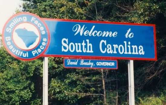 Welcome to South Carolina