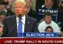 Donald Trump Rally Florence South Carolina