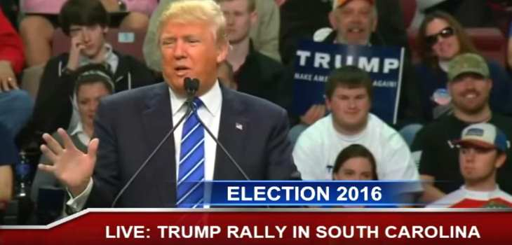 Donald Trump Rally Florence South Carolina