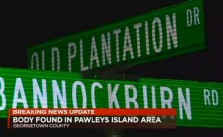 Pawleys Island Body Found Dead
