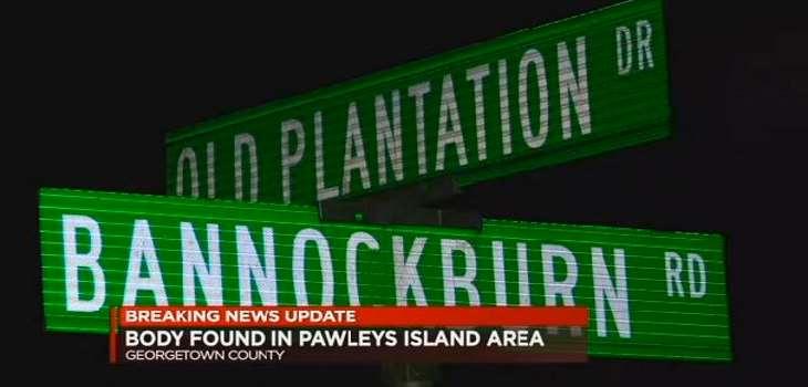 Pawleys Island Body Found Dead