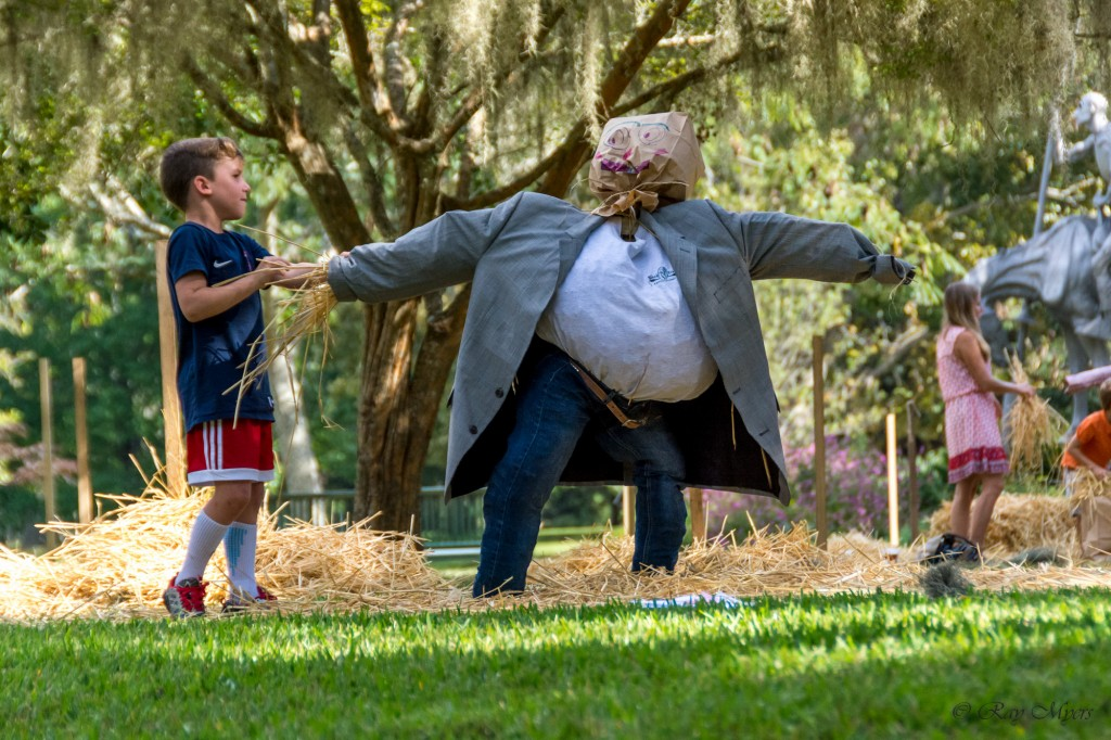 Brookgreen Gardens harvest home festival 2016 scarecrow