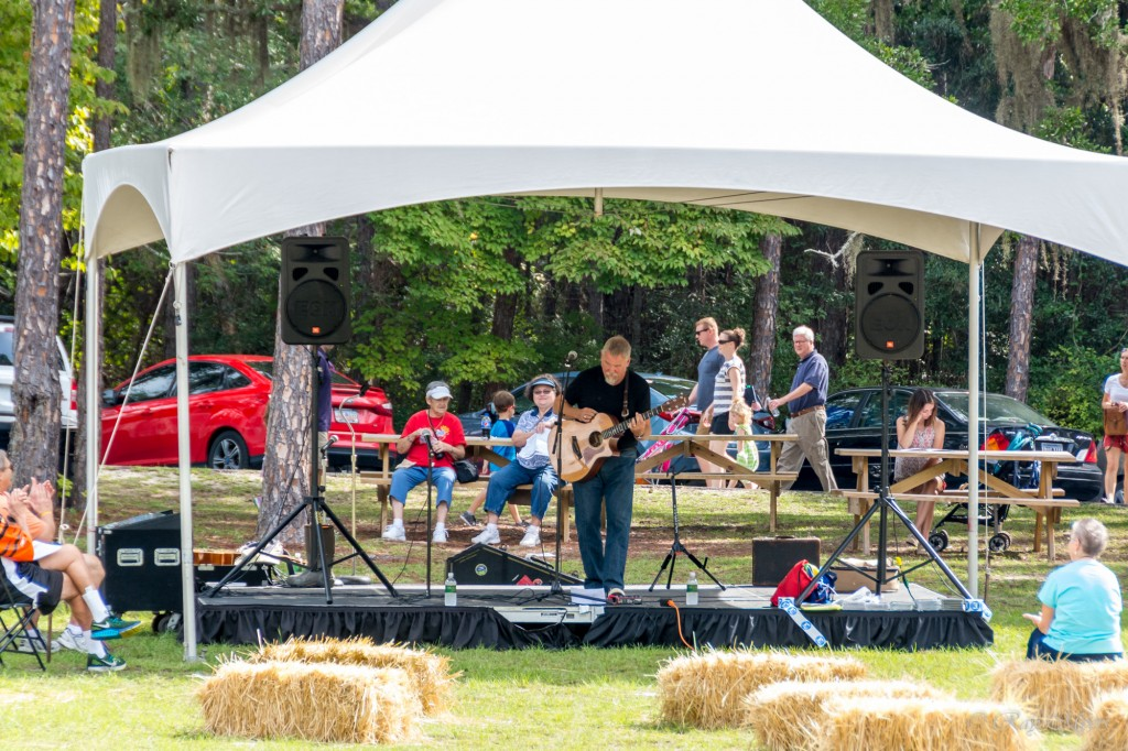 Brookgreen Gardens harvest home festival 2016 band