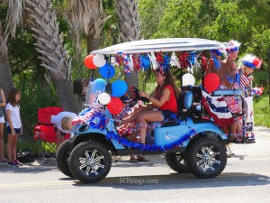 Pawleys Island 4th Parade 2018 4
